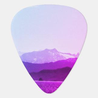Purple Mountains Guitar Pick