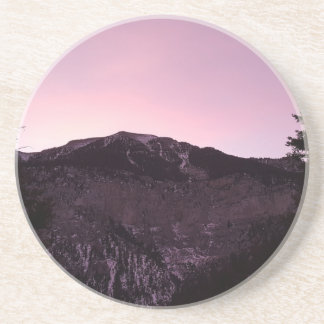 Purple mountains majesty coaster