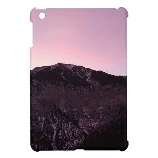 Purple mountains majesty iPad mini case