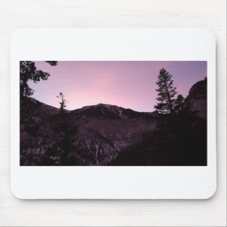 Purple mountains majesty mouse pad
