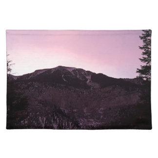 Purple mountains majesty placemat