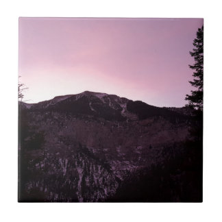 Purple mountains majesty tile