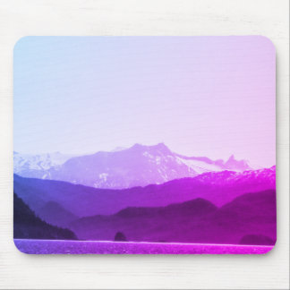 Purple Mountains Mousepad