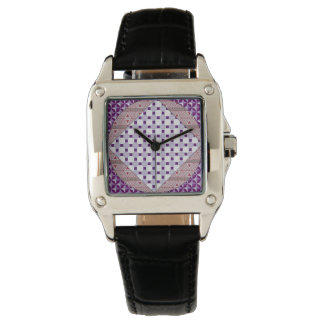 Purple Multi-Print Watch
