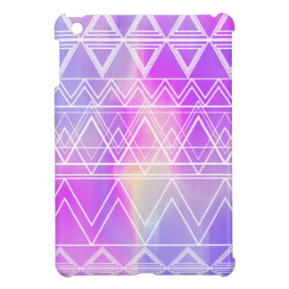 Purple Multi Tribal iPad Mini Cover