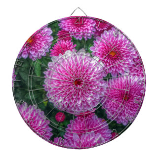 Purple Mums Dart Boards