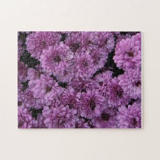 Purple Mums Puzzle