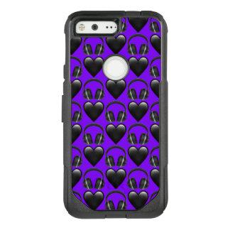 Purple Music Emoji Google Pixel Otterbox Case