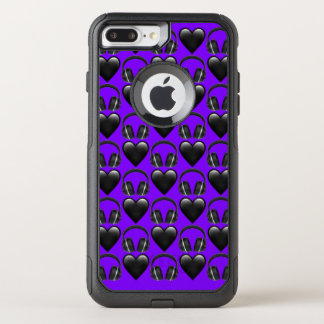 Purple Music Emoji iPhone 7 Plus Otterbox Case
