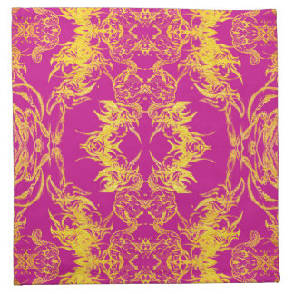 purple napkin