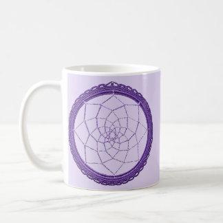 Purple Native American Dreamcatcher Coffee Mug