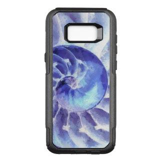 Purple Nautilus Art OtterBox Commuter Samsung Galaxy S8+ Case