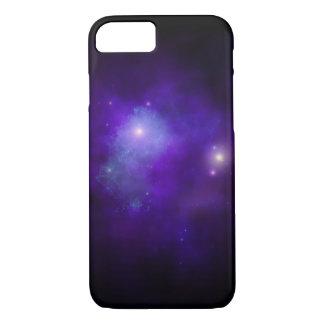Purple nebula phone case