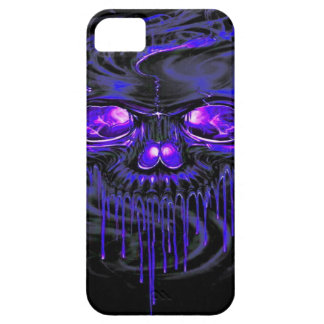 Purple Nerpul Skeletons Case For The iPhone 5