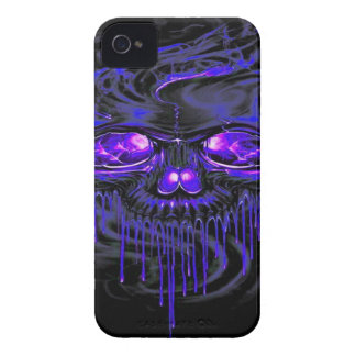 Purple Nerpul Skeletons iPhone 4 Case-Mate Case