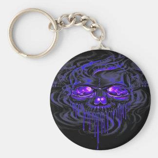 Purple Nerpul Skeletons Keychain