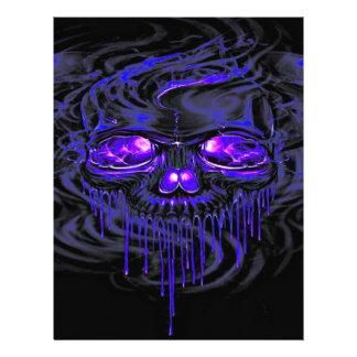 Purple Nerpul Skeletons Letterhead
