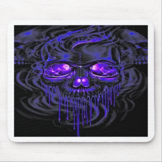 Purple Nerpul Skeletons Mouse Pad