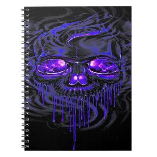 Purple Nerpul Skeletons Notebook