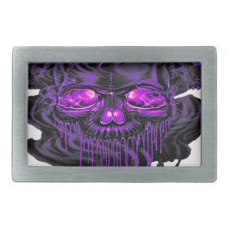 Purple Nerpul Skeletons PNG Belt Buckles