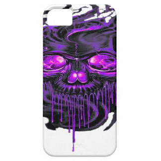 Purple Nerpul Skeletons PNG Case For The iPhone 5