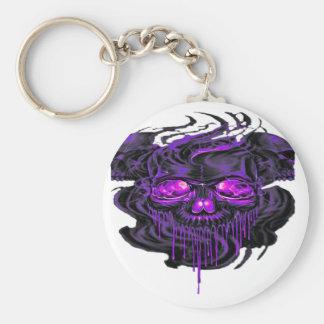 Purple Nerpul Skeletons PNG Keychain
