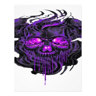 Purple Nerpul Skeletons PNG Letterhead