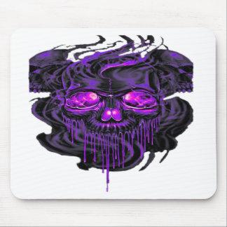 Purple Nerpul Skeletons PNG Mouse Pad