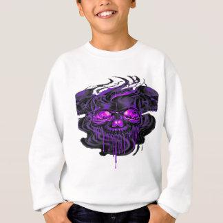 Purple Nerpul Skeletons PNG Sweatshirt