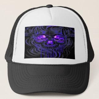 Purple Nerpul Skeletons Trucker Hat