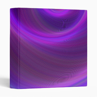 Purple night storm 3 ring binder