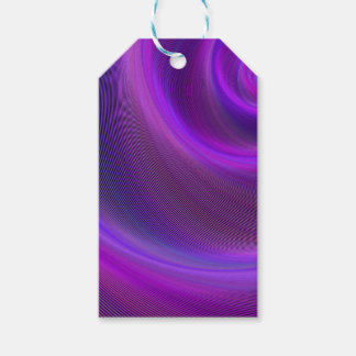 Purple night storm pack of gift tags