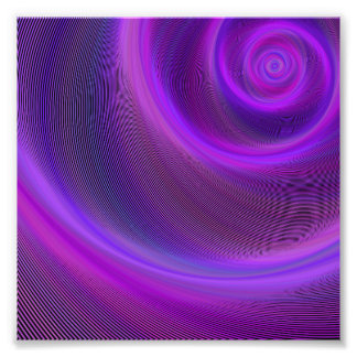 Purple night storm photo print