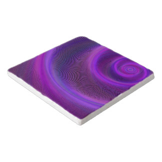 Purple night storm trivet