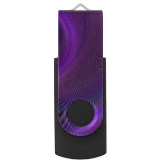 Purple night storm USB flash drive