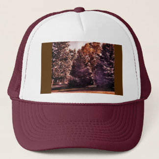 Purple Night Trucker Hat
