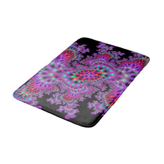 Purple Nightmare Bath Mat