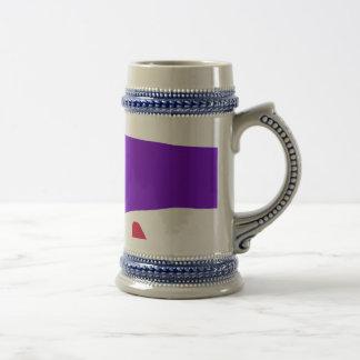 Purple Ocean Beer Stein