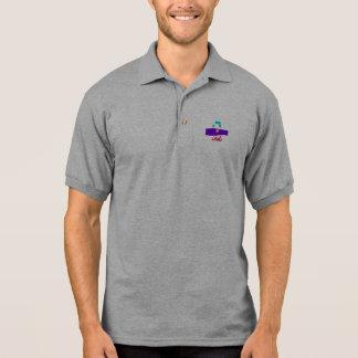 Purple Ocean Polo Shirt