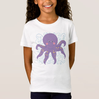 Purple Octopus Tshirt