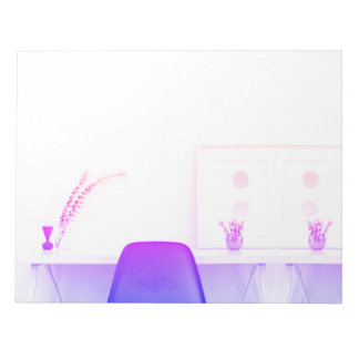 Purple Ombre Chair Study From The Desk Of Notepad