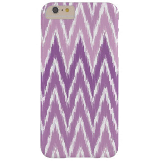 Purple Ombre Ikat Chevron Zig Zag Stripes Pattern Barely There iPhone 6 Plus Case