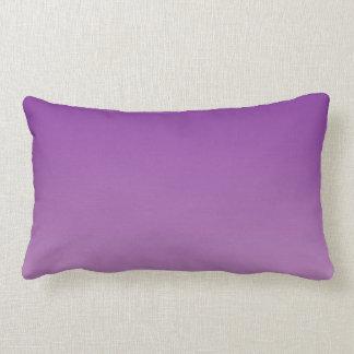 """Purple Ombre"" Lumbar Pillow"