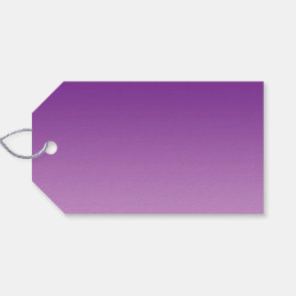 Purple Ombre Pack Of Gift Tags