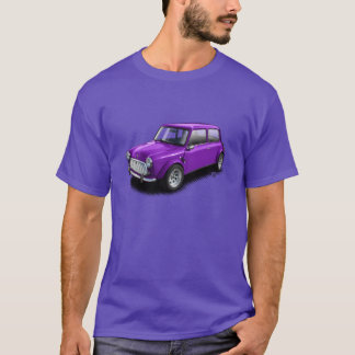 Purple on Purple Classic Mini Car T-Shirt