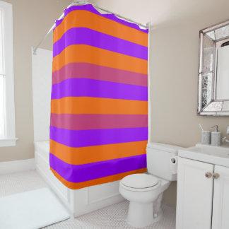 Purple, Orange and Pink  Stripes