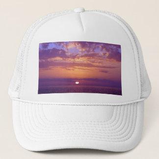 Purple Orange Florida Sunset Trucker Hat