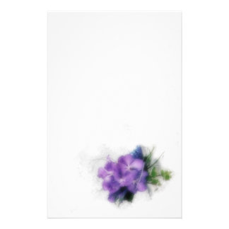 Purple Orchids 1 Stationery