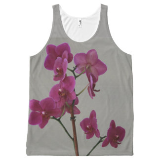 Purple Orchids All-Over-Print Tank Top
