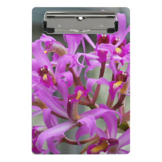 Purple Orchids Floral Mini Clipboard
